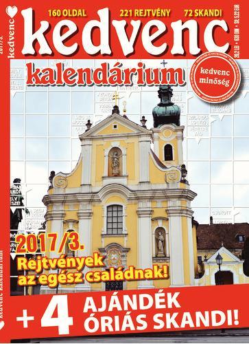 KEDVENC KALENDÁRIUM 2017/3.