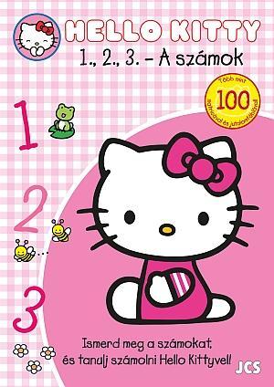 - - HELLO KITTY - 1, 2, 3... - A SZÁMOK