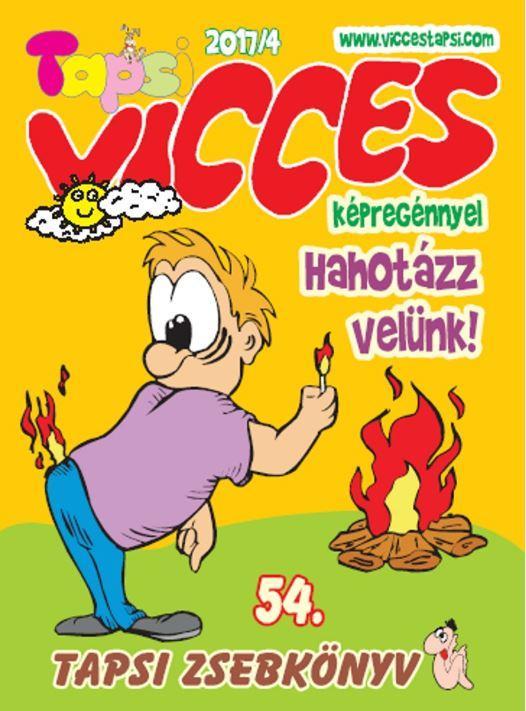- - VICCES TAPSI - 2017/4. - TAPSI ZSEBKÖNYV 54.