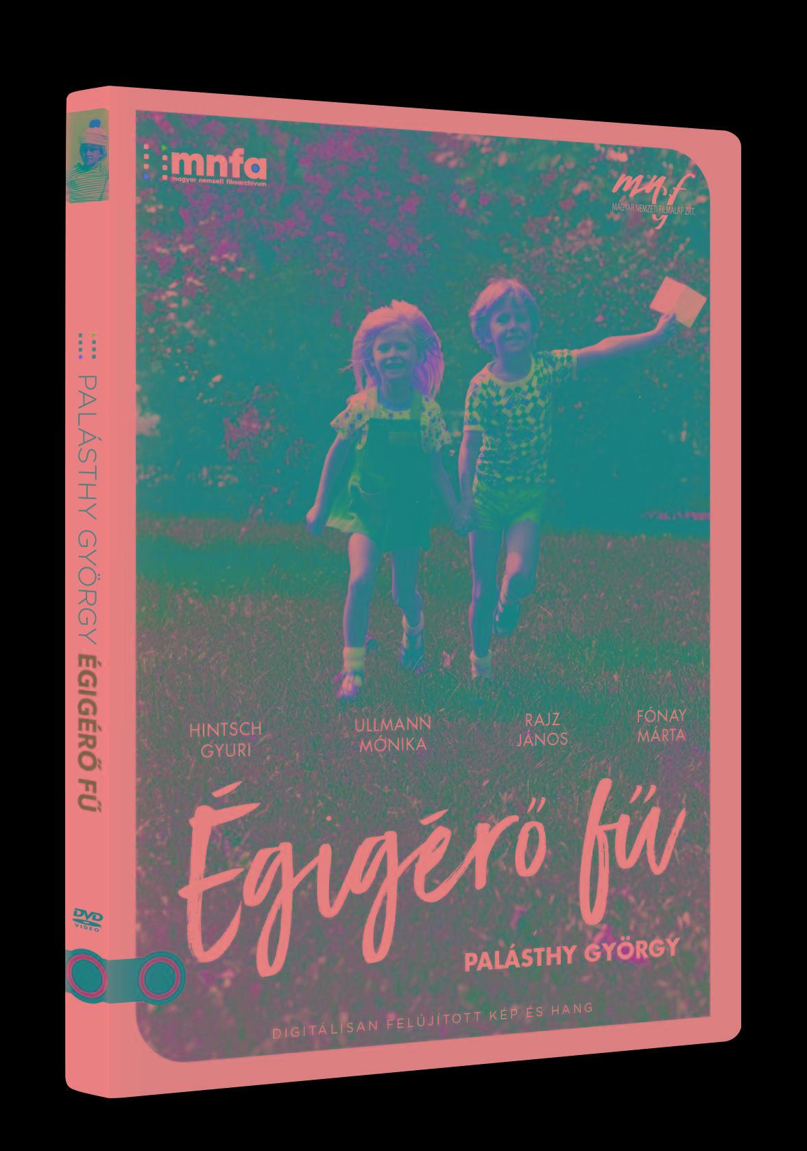 ÉGIGÉRŐ FŰ - DVD