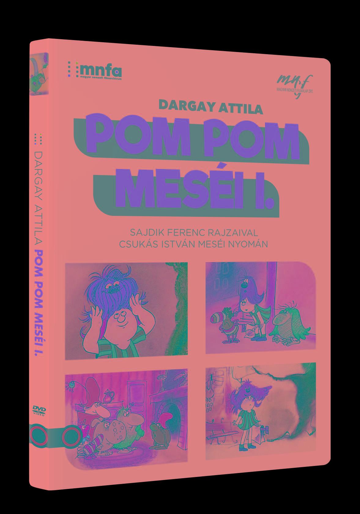 DARGAY ATTILA - POM POM MESÉI I. DVD