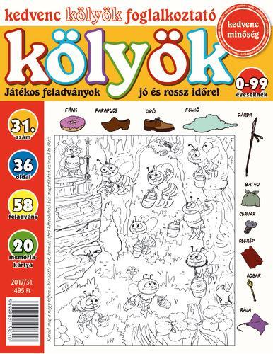 KEDVENC KÖLYÖK FOGLALKOZTATÓ 31.