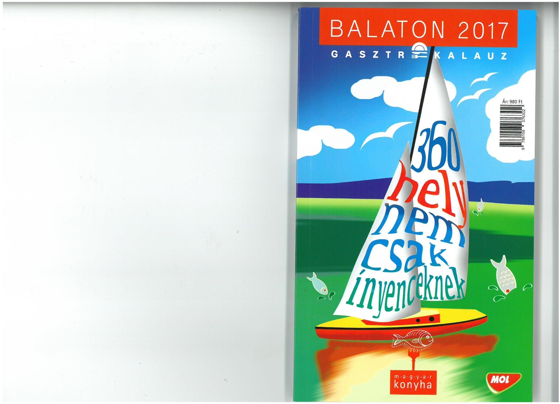 BALATON 2017 GASZTROKALAUZ