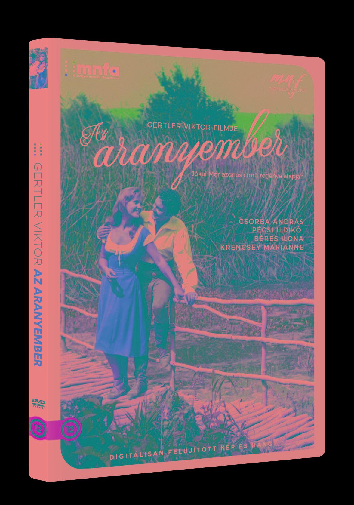 AZ ARANYEMBER - DVD -