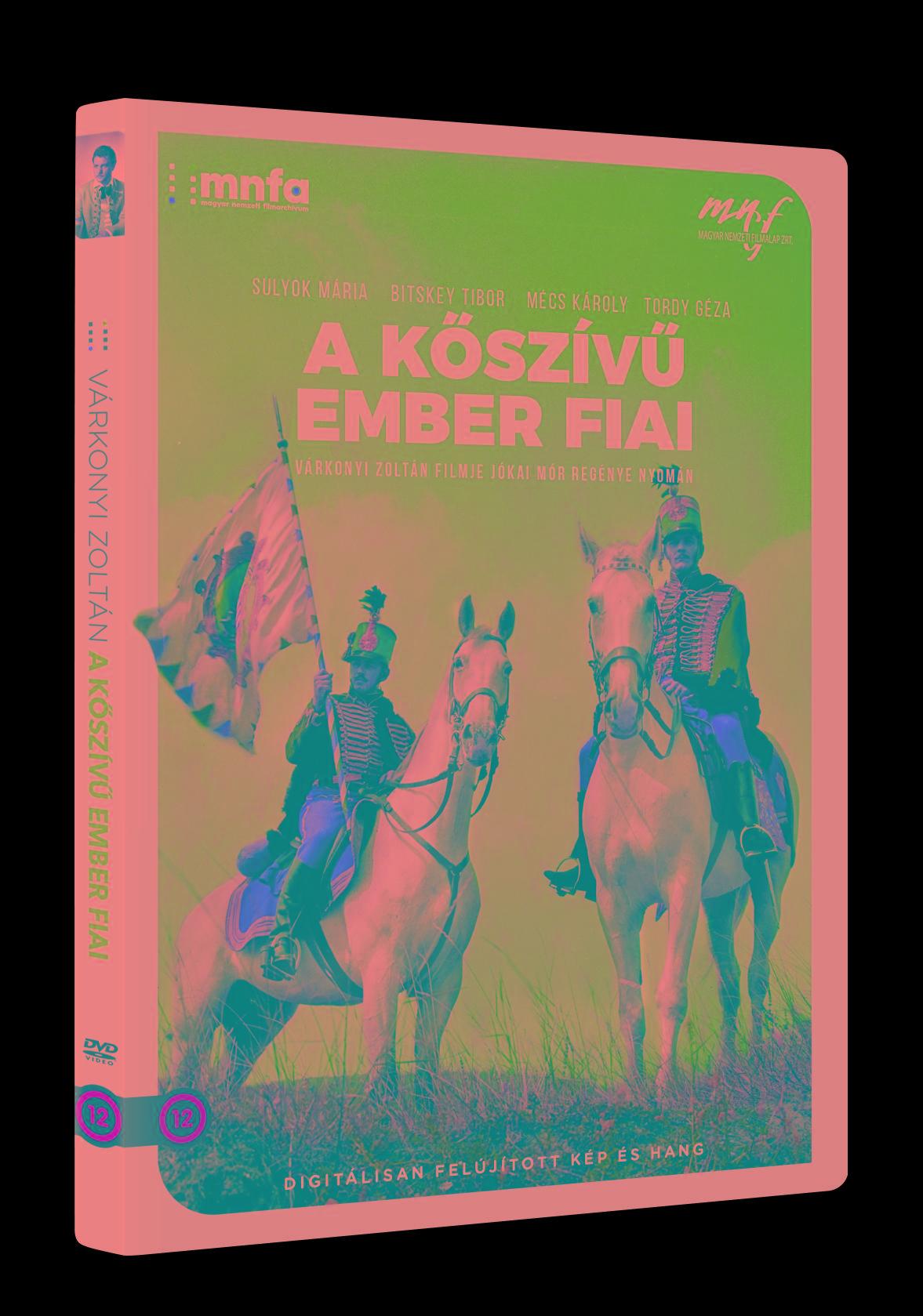 A KŐSZÍVŰ EMBER FIAI - DVD -