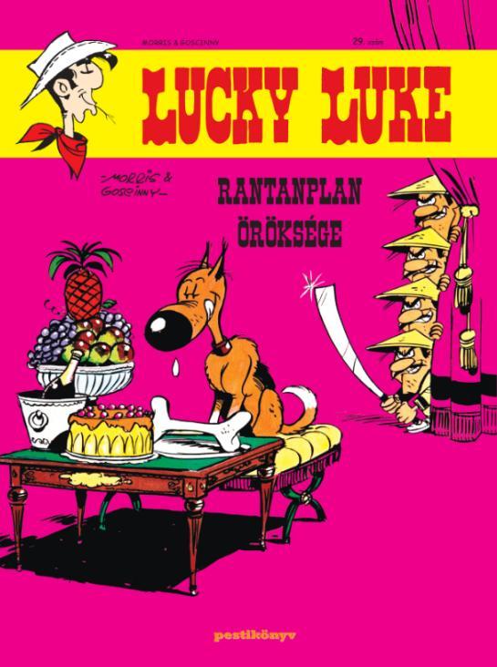 LUCKY LUKE 29. - RANTANPLAN ÖRÖKSÉGE