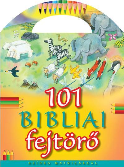 101 BIBLIAI FEJTÖRÕ - SZÍNES MATRICÁKKAL