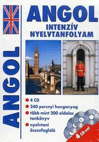 - ANGOL INTENZÍV NYELVTANFOLYAM (4 CD)