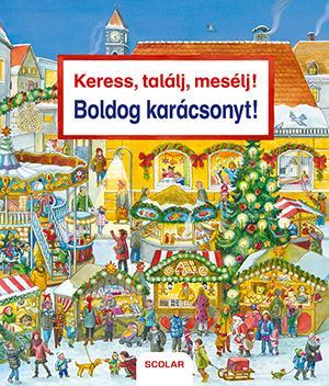 BOLDOG KARÁCSONYT! - KERESS, TALÁLJ, MESÉLJ!