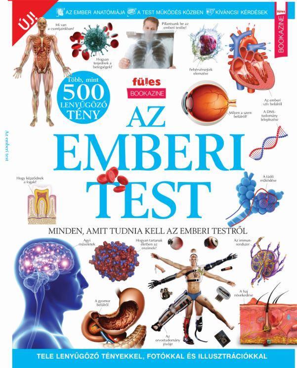 AZ EMBERI TEST - BOOKAZINE