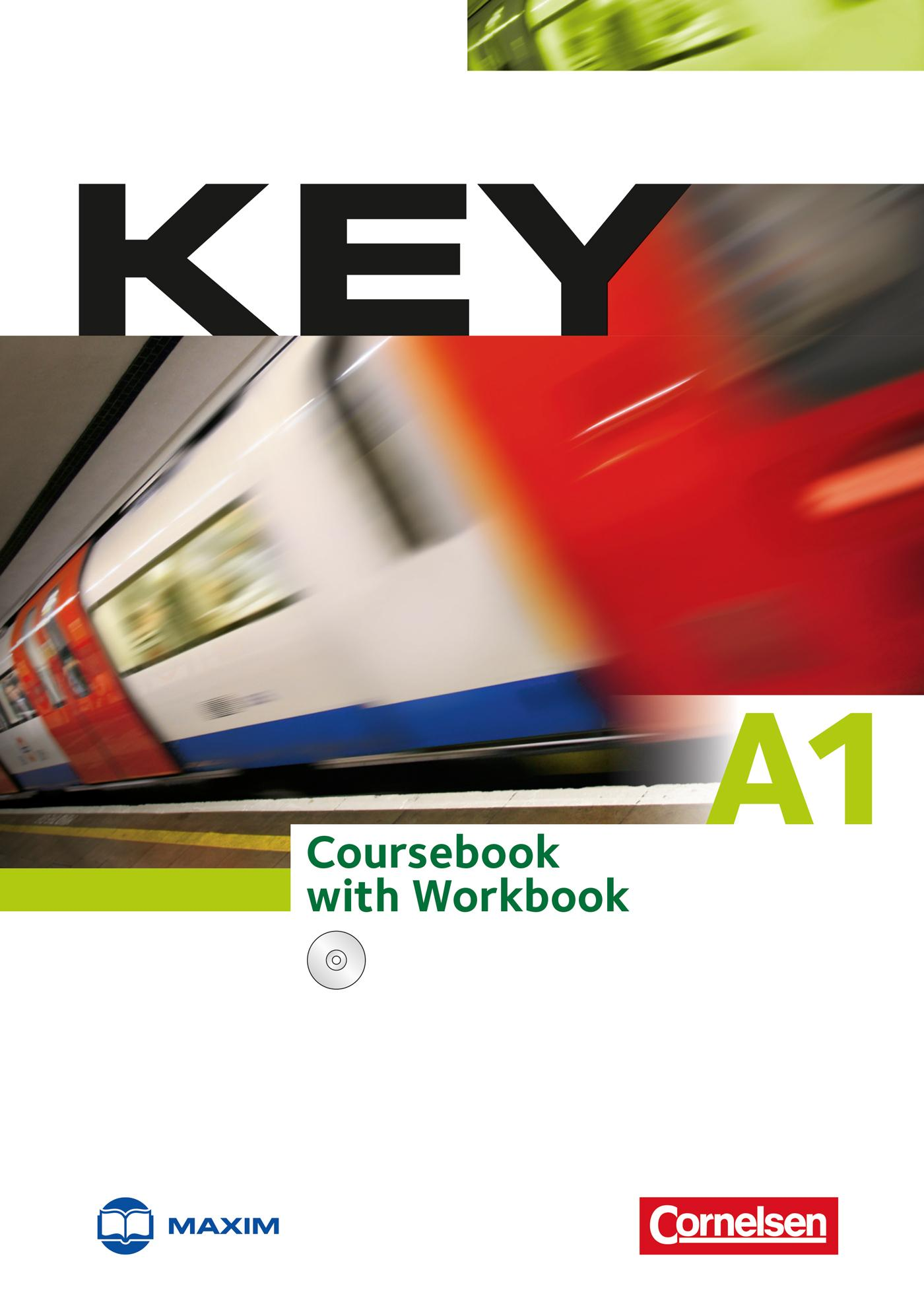 - KEY A1 COURSEBOOK WITH WORKBOOK + CD