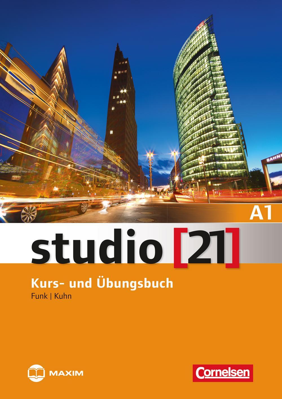 STUDIO (21) A1 KURS- UND ÜBUNGSBUCH + DVD