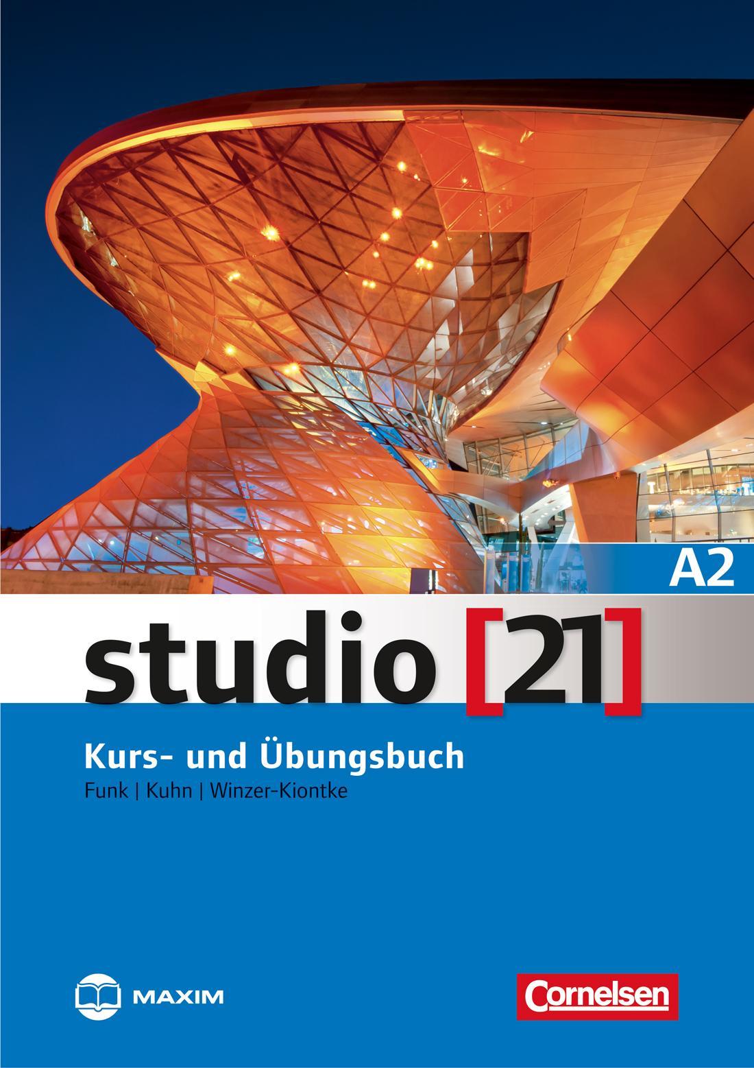 STUDIO (21) A2 KURS- UND ÜBUNGSBUCH + DVD