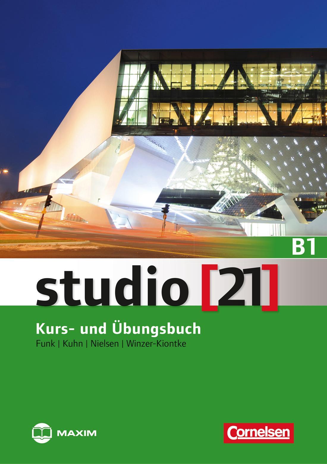 STUDIO (21) B1 KURS- UND ÜBUNGSBUCH + DVD