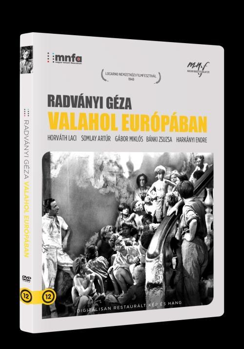RADVÁNYI GÉZA - VALAHOL EURÓPÁBAN - DVD -