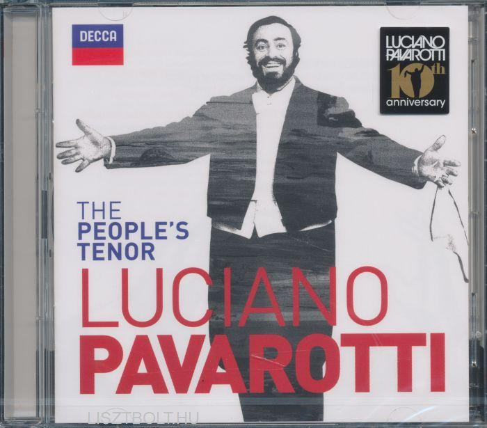 - THE PEOPLE'S TENOR - LUCIANO PAVAROTTI - CD