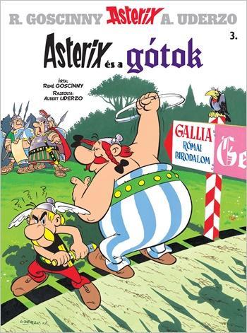 ASTERIX ÉS A GÓTOK - ASTERIX 3. (ÚJ BORÍTÓ)