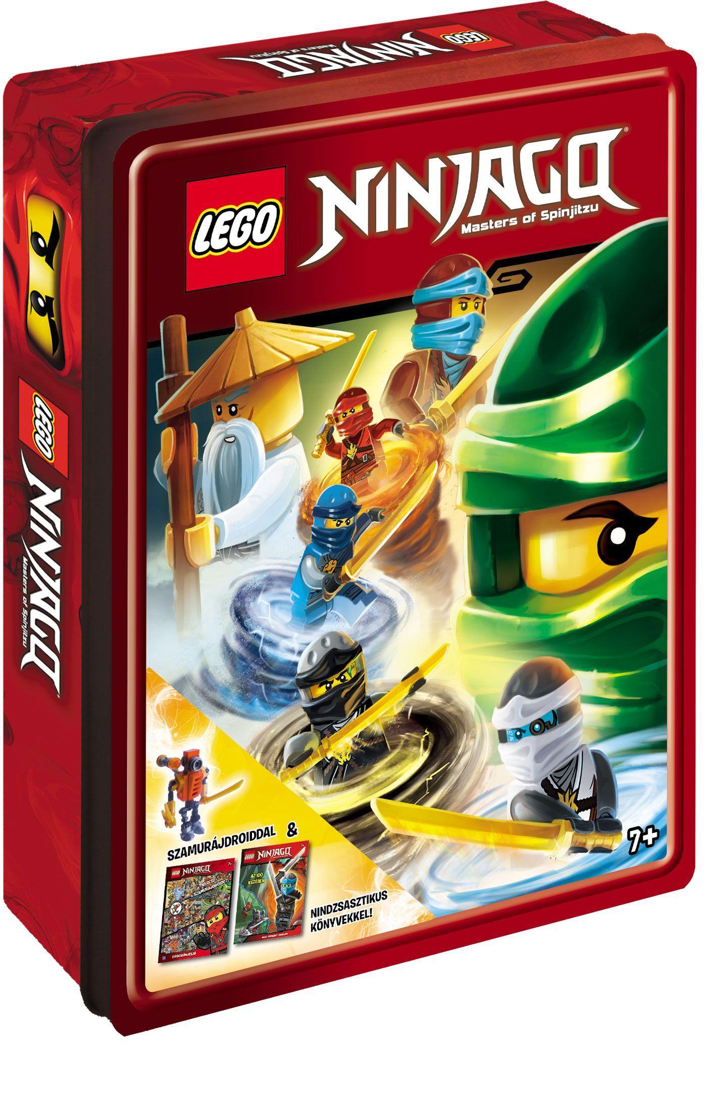 - - LEGO NINJAGO MEGLEPETÉSDOBOZ