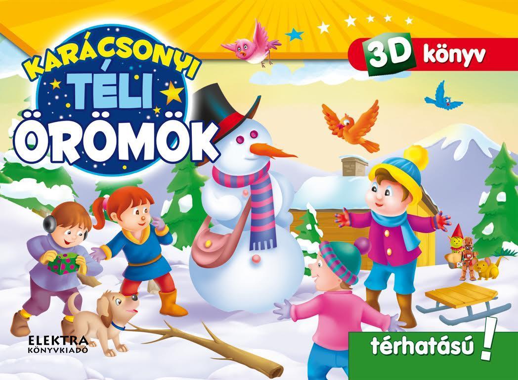 TÉLI ÖRÖMÖK - 3D KÖNYV (POP-UP)
