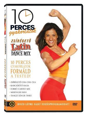 - 10 PERCES GYAKORLATOK - LATIN DANCE MIX - DVD -
