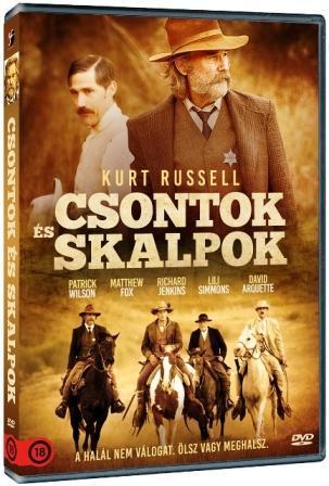 CSONTOK ÉS SKALPOK - DVD -