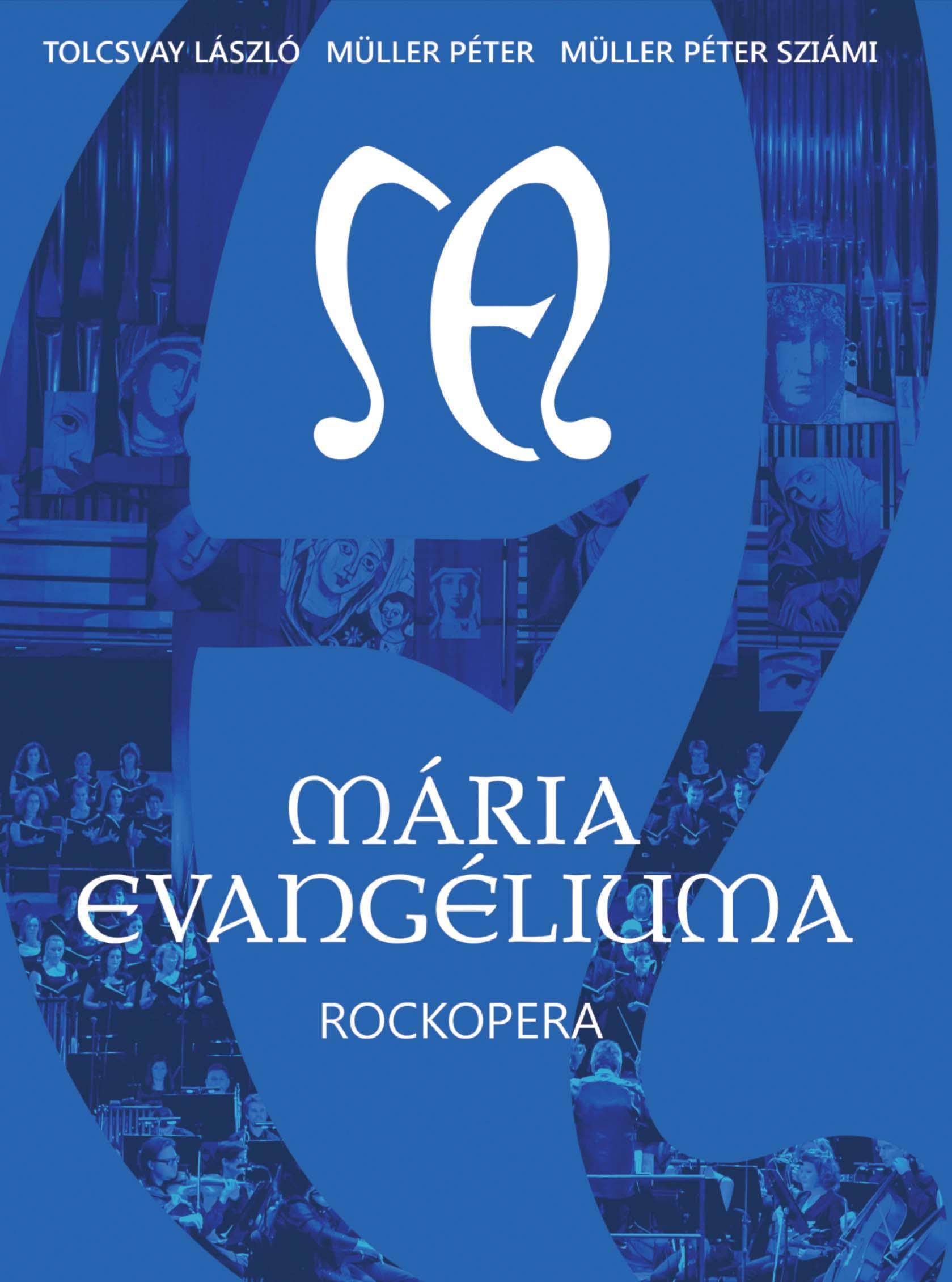 MÁRIA EVANGÉLIUMA ROCKOPERA - DVD -