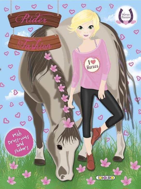 - - RIDER FASHION 4 - HORSES PASSION (I LOVE HORSES)