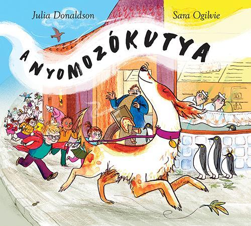 DONALDSON, JULIA - A NYOMOZÓKUTYA