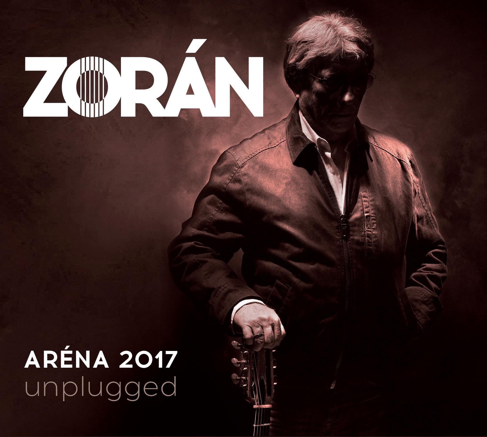 ZORÁN - ZORÁN - ARÉNA 2017 UNPLUGGED - CD -