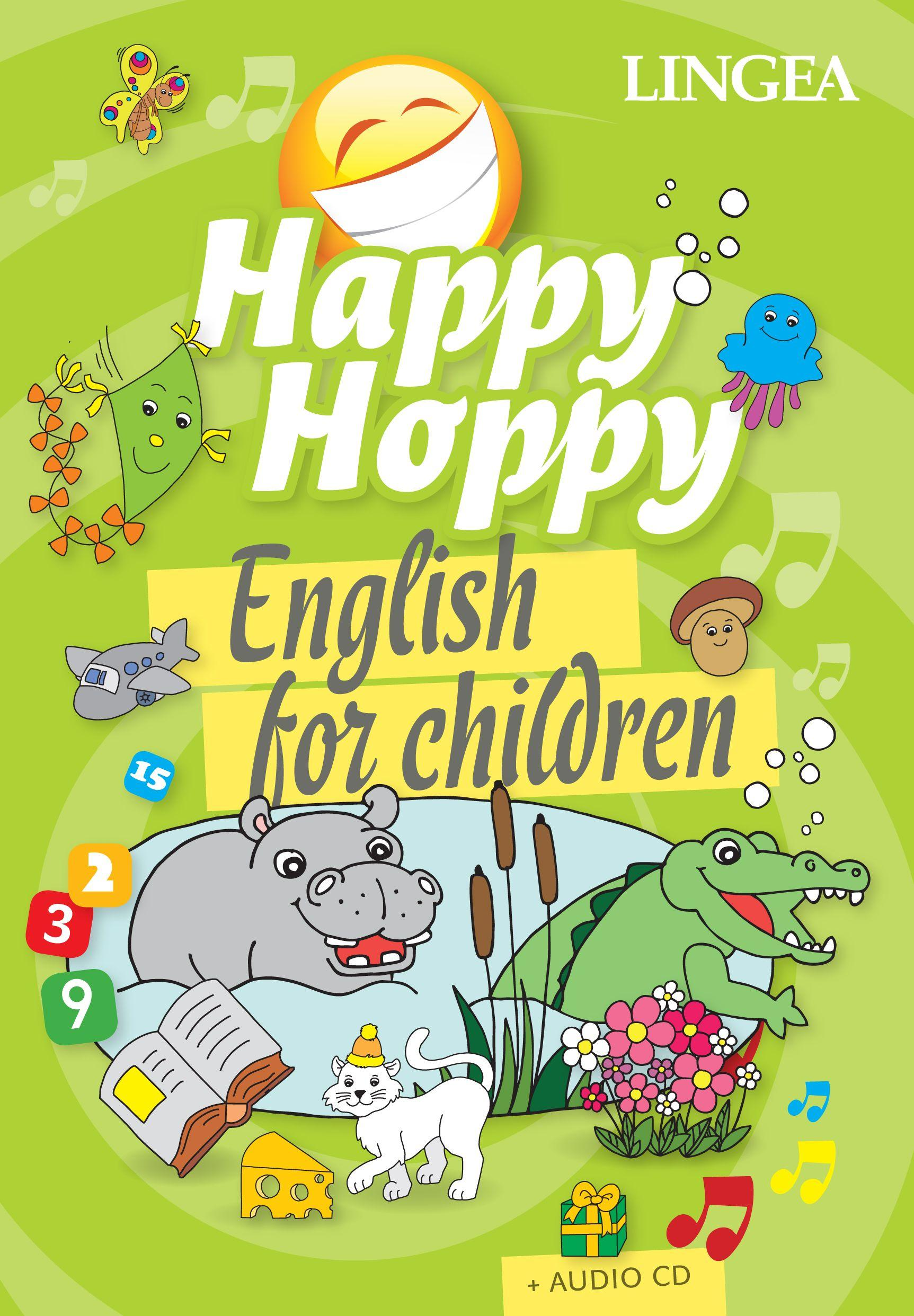 HAPPY HOPPY KÖNYV - ENGLISH FOR CHILDREN + AUDIO CD