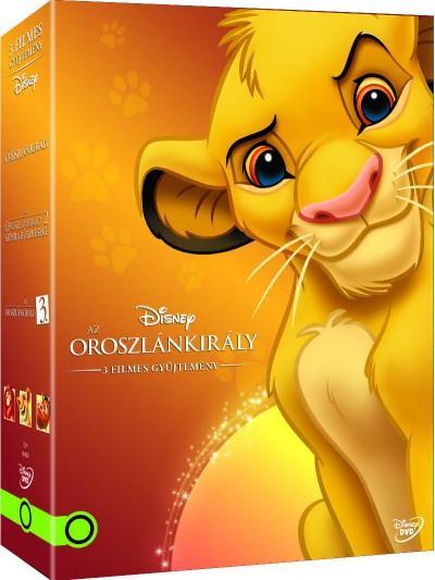 - AZ OROSZLÁNKIRÁLY DÍSZDOBOZ (2015) - DVD -