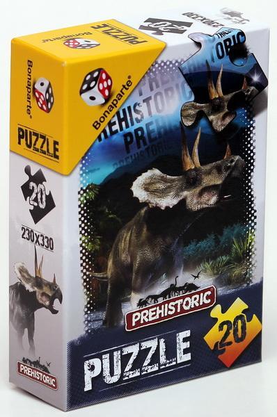 BONAPARTE - PREHISTÓRIA 3D 20 PUZZLE KIRAKÓJÁTÉK