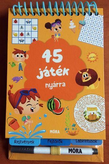 - - 45 JÁTÉK NYÁRRA