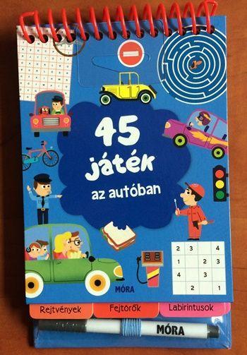- 45 JÁTÉK AZ AUTÓBAN