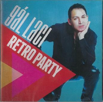 GÁL LACI - RETRO PARTY - CD -