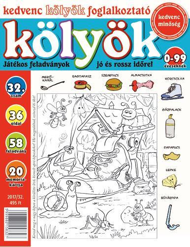 KEDVENC KÖLYÖK FOGLALKOZTATÓ 32.