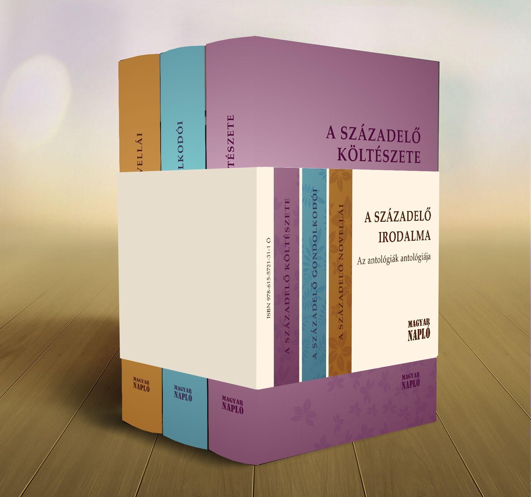 A SZÁZADELŐ IRODALMA - AZ ANTOLÓGIÁK ANTOLÓGIÁJA (A MI IRODALMUNK, 3 KÖTET)