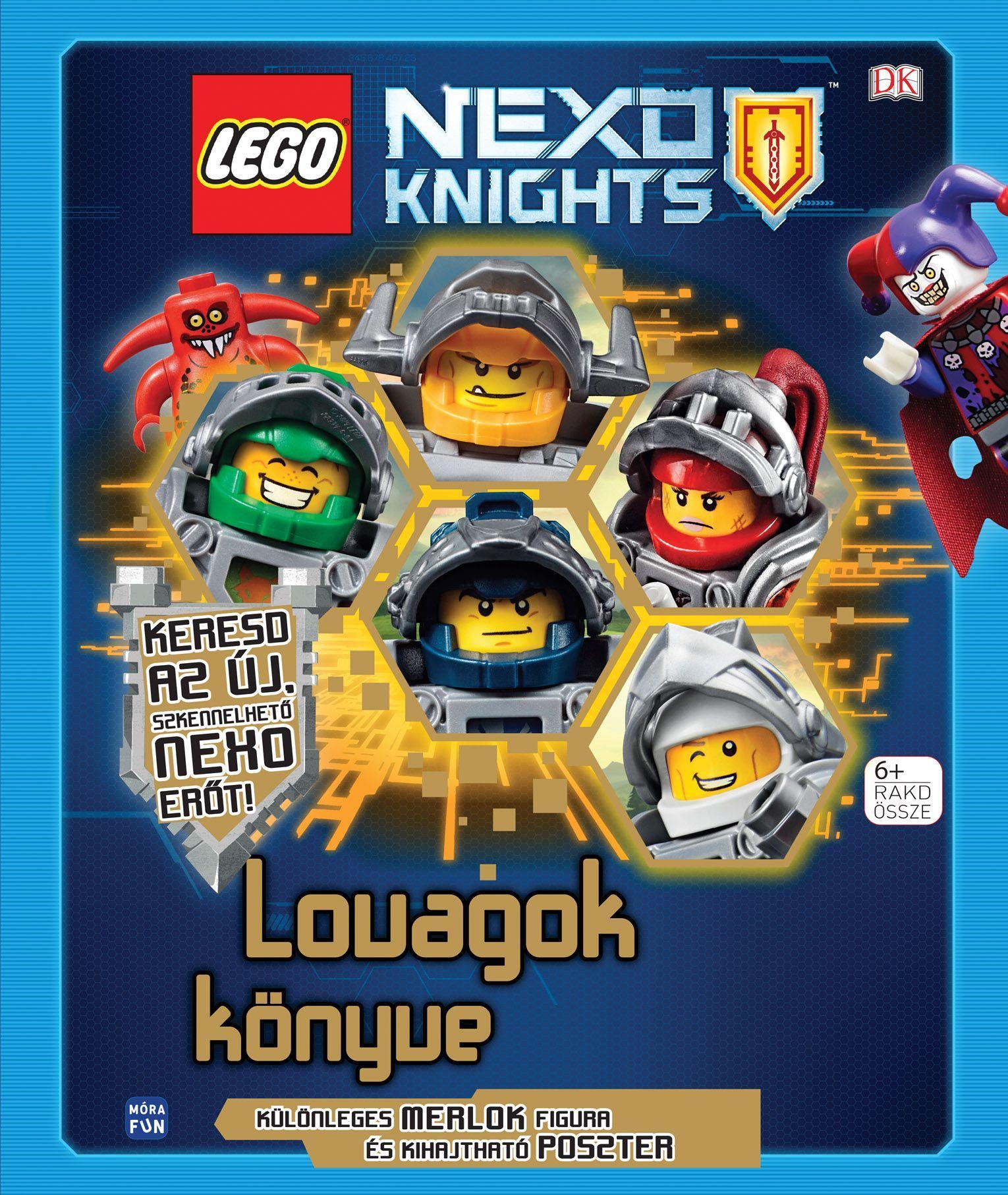 - - LEGO NEXO KNIGHTS - LOVAGOK KÖNYVE