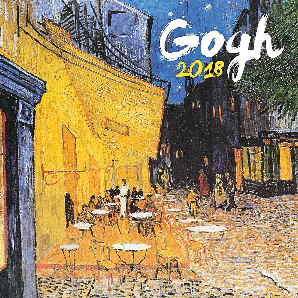 - PG NAPTÁR VINCENT VAN GOGH 2018, 30 X 30 CM