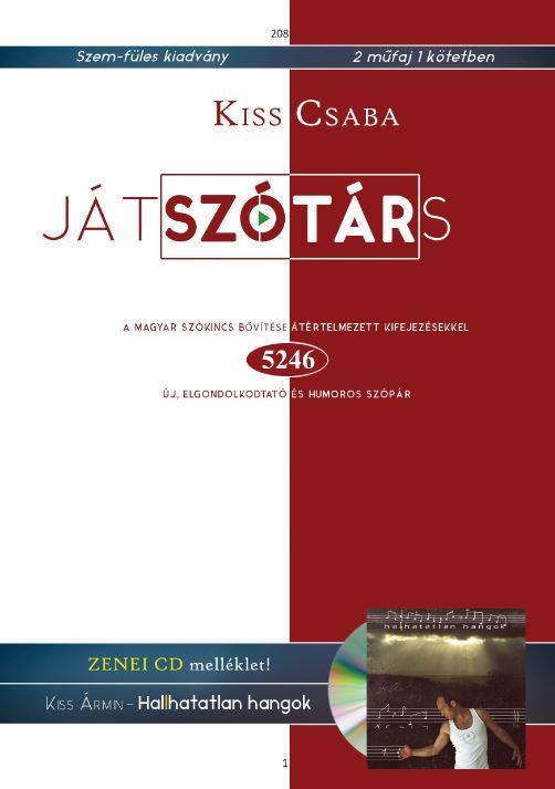 JÁTSZÓTÁRS - ZENEI CD MELLÉKLETTEL