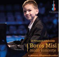 BOROS MISI (VIRTUOZÓK) - BOROS MISI ÖNÁLLÓ KONCERTJE -  DUPLA CD -