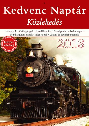 KEDVENC NAPTÁR 2018 - KÖZLEKEDÉS