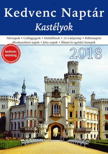 KEDVENC NAPTÁR 2018 - KASTÉLYOK
