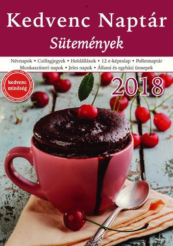 KEDVENC NAPTÁR 2018 - SÜTEMÉNYEK