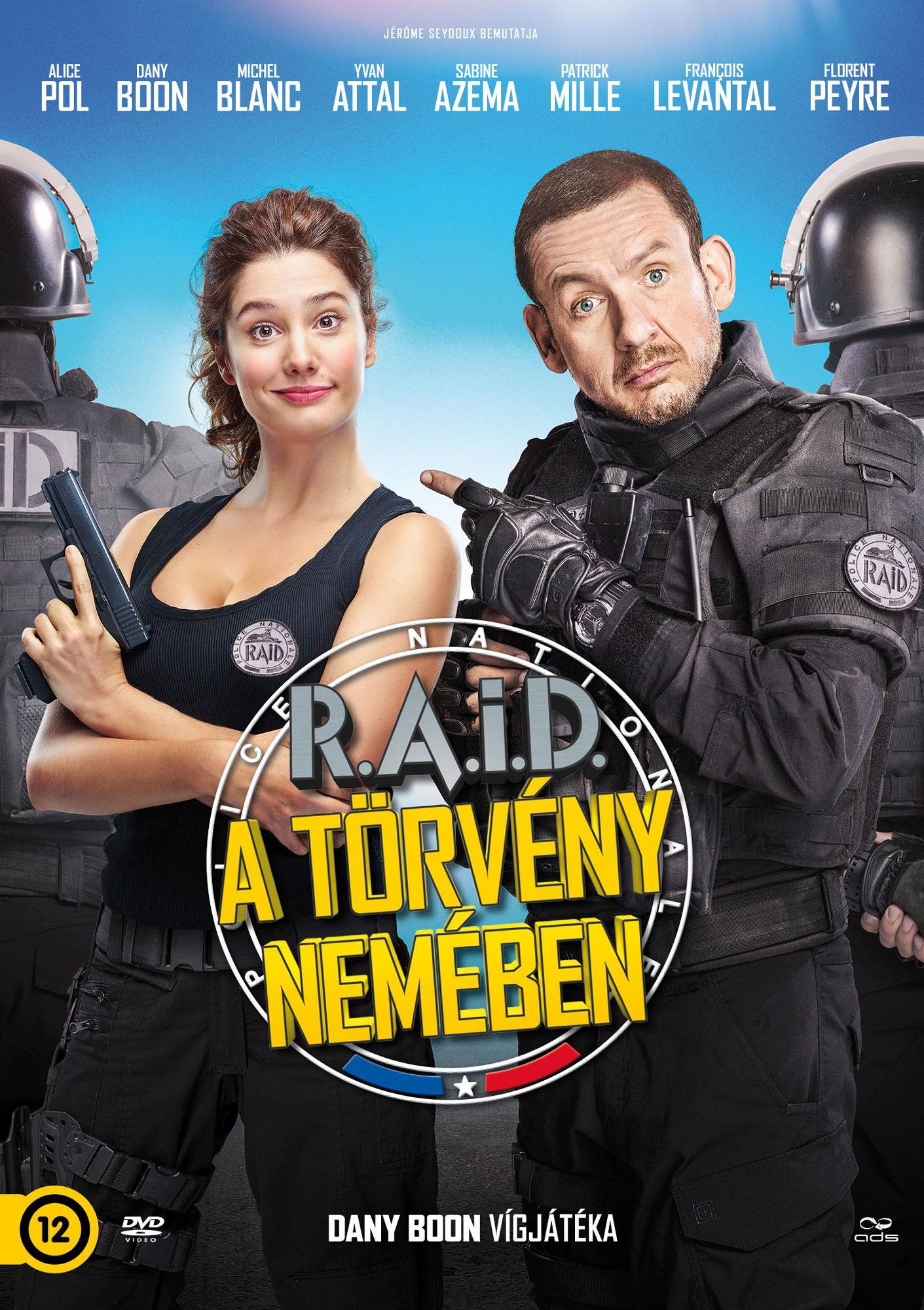 - RAID - A TÖRVÉNY NEMÉBEN - CD -