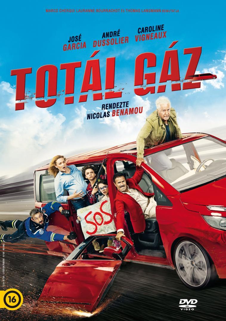 - TOTÁL GÁZ - DVD -