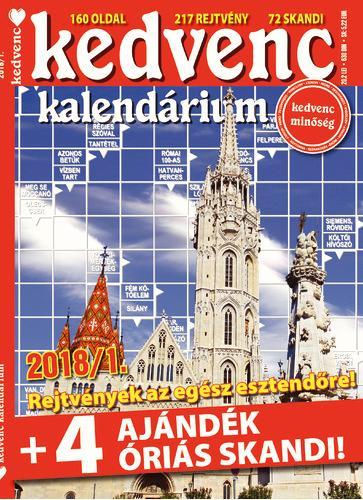 KEDVENC KALENDÁRIUM 2018/1