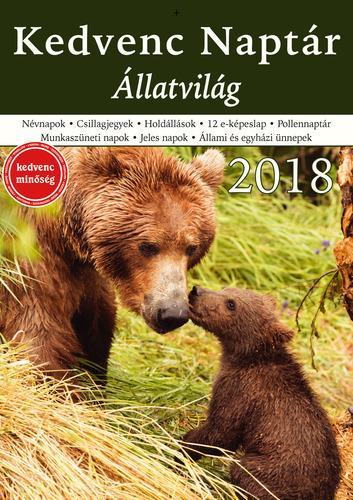 KEDVENC NAPTÁR 2018 - ÁLLATVILÁG