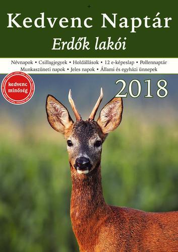 KEDVENC NAPTÁR 2018 - ERDÕK LAKÓI
