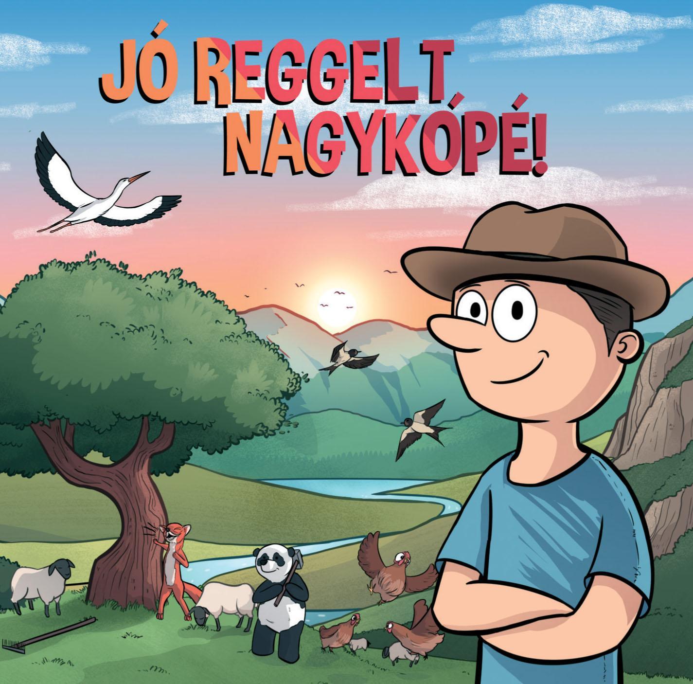 NEMES ÁKOS - JÓ REGGELT NAGYKÓPÉ! - CD -
